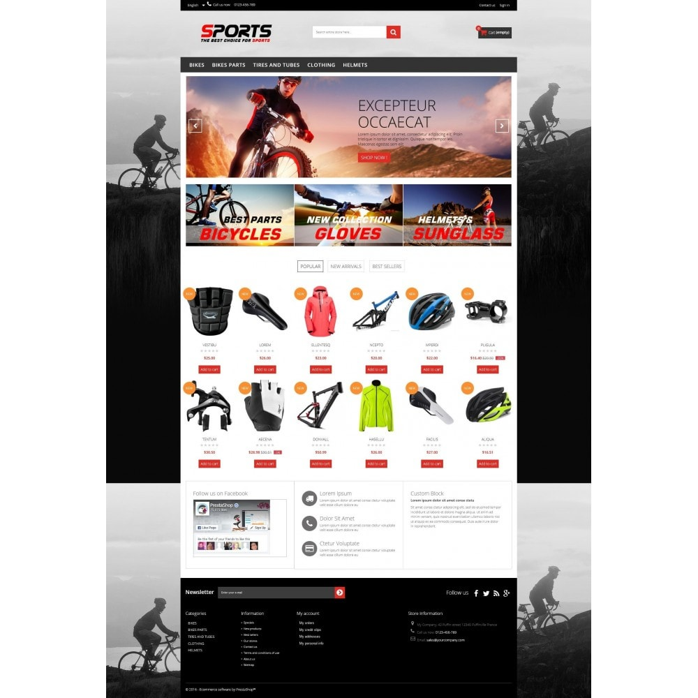 Sports Multipurpose HTML5