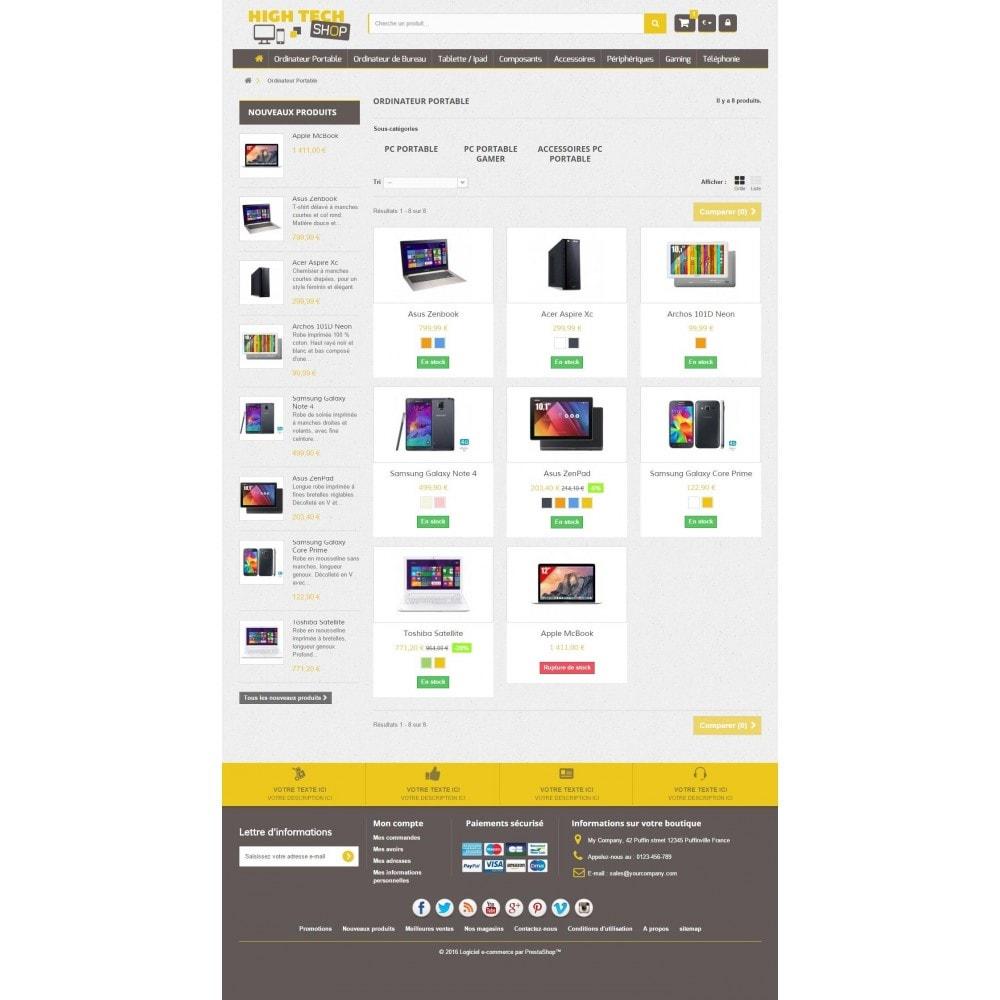 High Tech Shop 1.6 Responsive