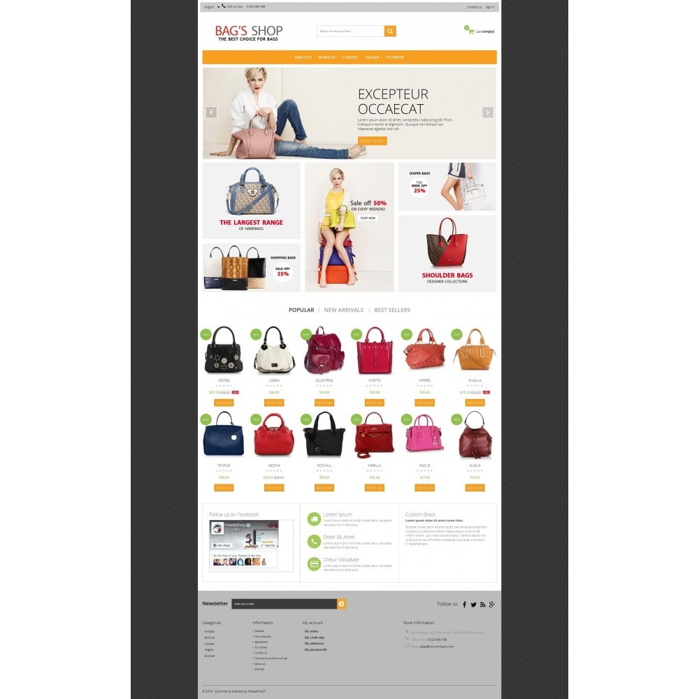 theme - Schmuck & Accesoires - Bags shop Multipurpose HTML5 - 9
