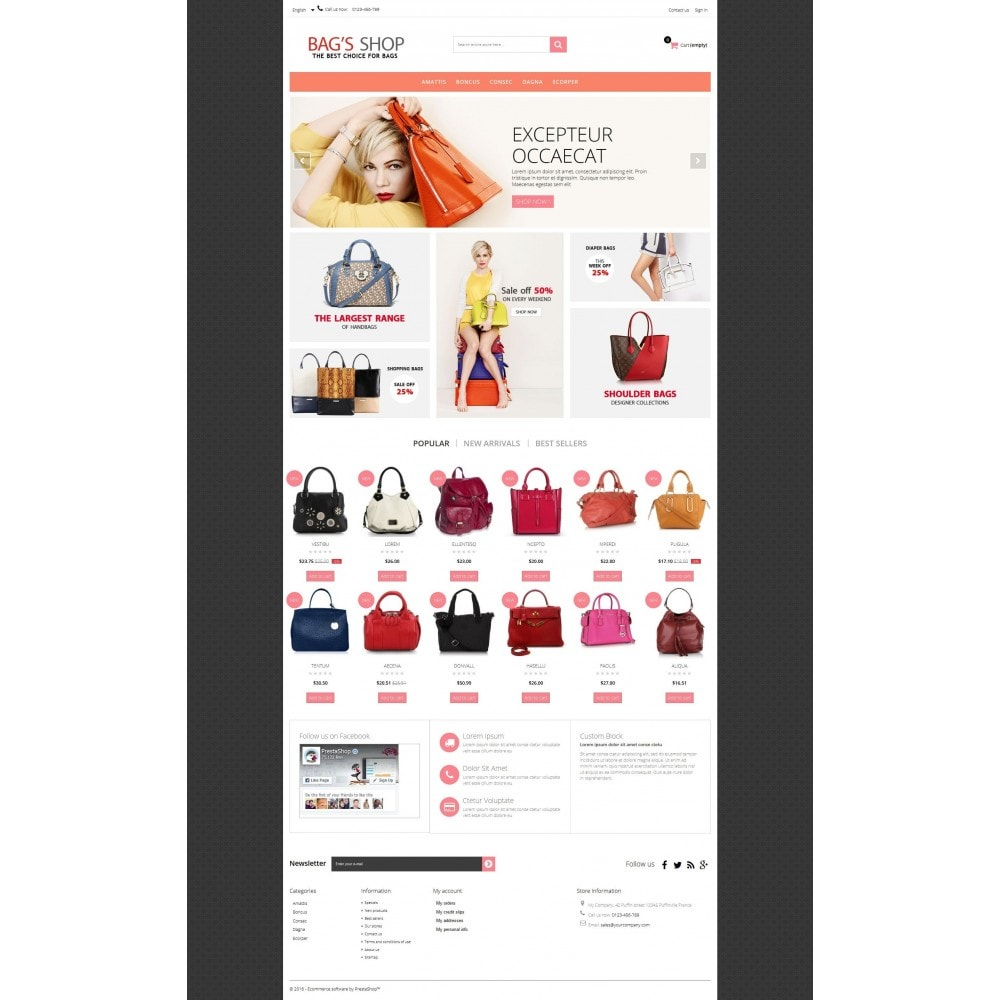 theme - Schmuck & Accesoires - Bags shop Multipurpose HTML5 - 10