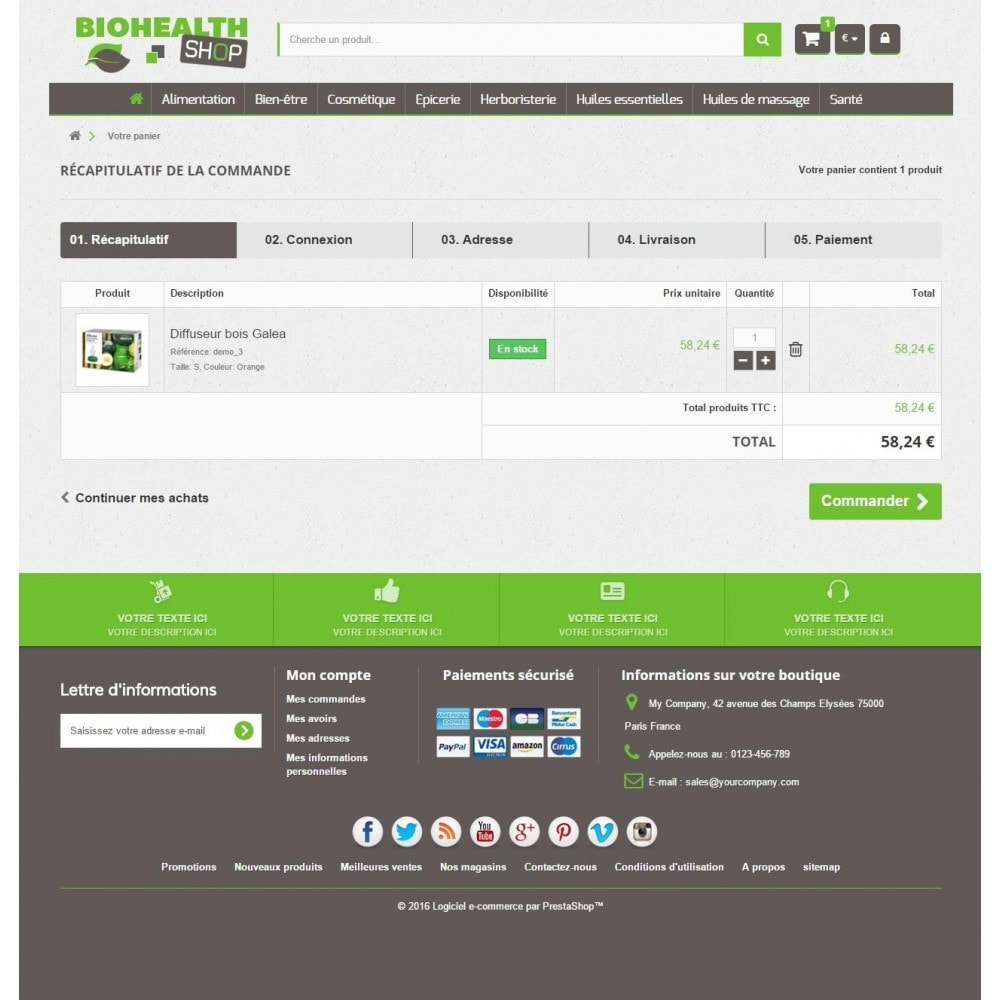 theme - Health & Beauty - Bio Health 1.6 Responsive - 5
