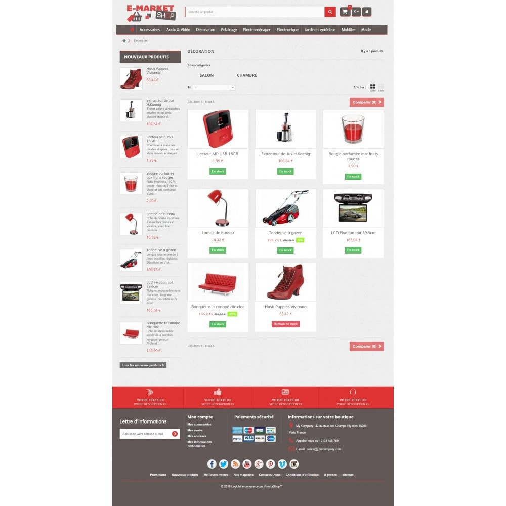 theme - Elektronik & High Tech - E-market 1.6 Responsive - 3