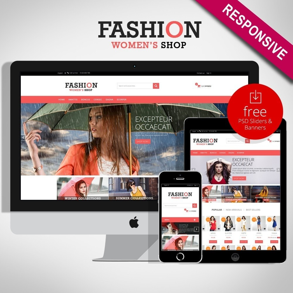 theme - Moda & Obuwie - Fashion 1.6 Multipurpose HTML5 - 1