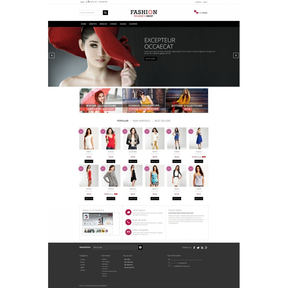 Fashion Multipurpose HTML5