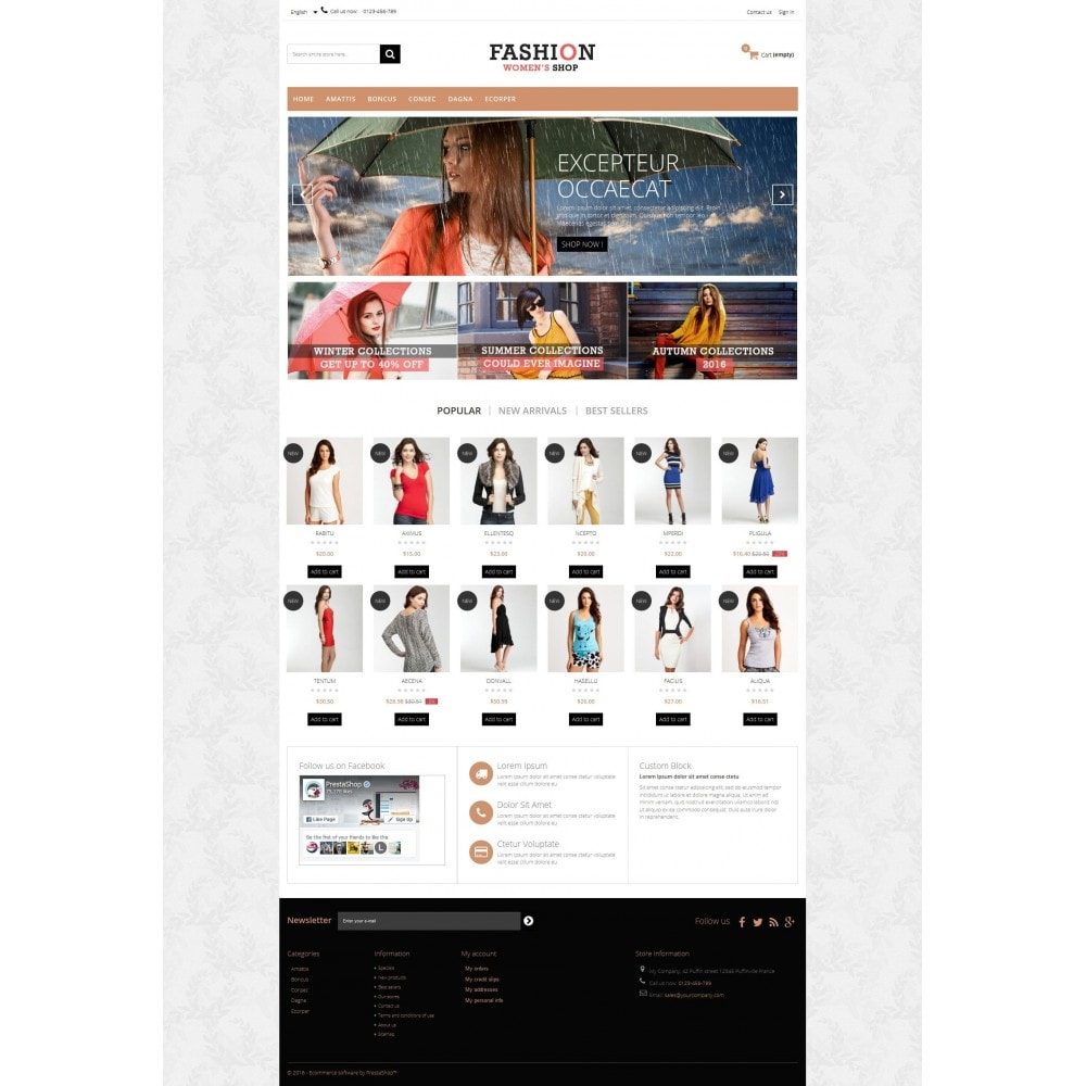 theme - Fashion & Shoes - Fashion Multipurpose HTML5 - 4