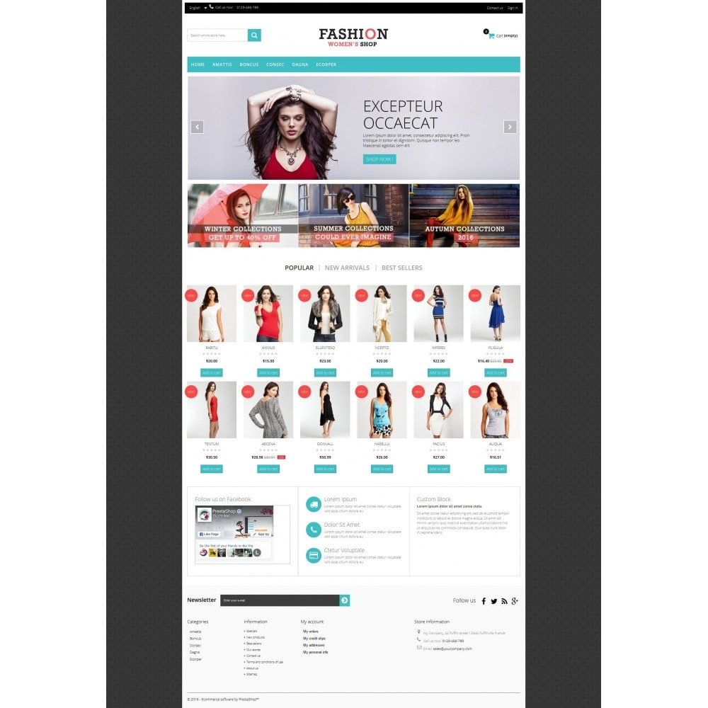 theme - Moda y Calzado - Fashion Multipurpose HTML5 - 5