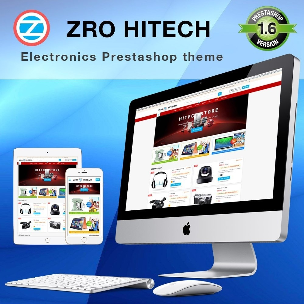 theme - Electronique & High Tech - Zro23 - Hitech - Electronics Online Store - 1