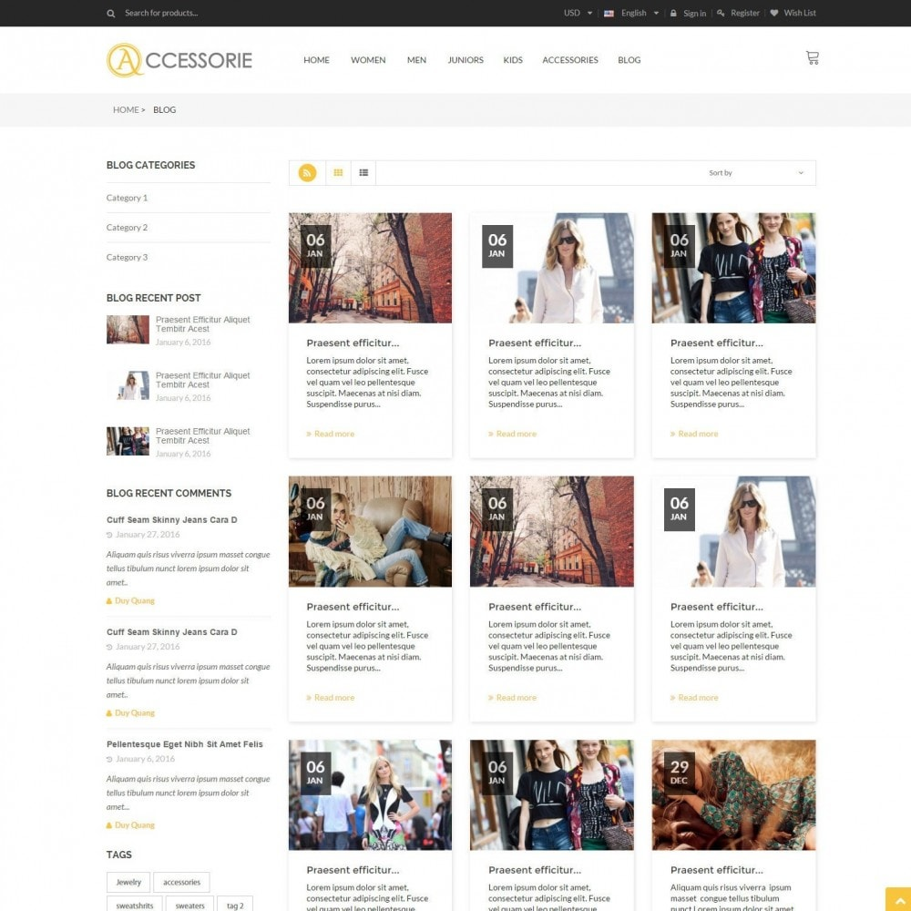 theme - Fashion & Shoes - Minimal Accessorie Fashion & Shoes Responsive Store - 3