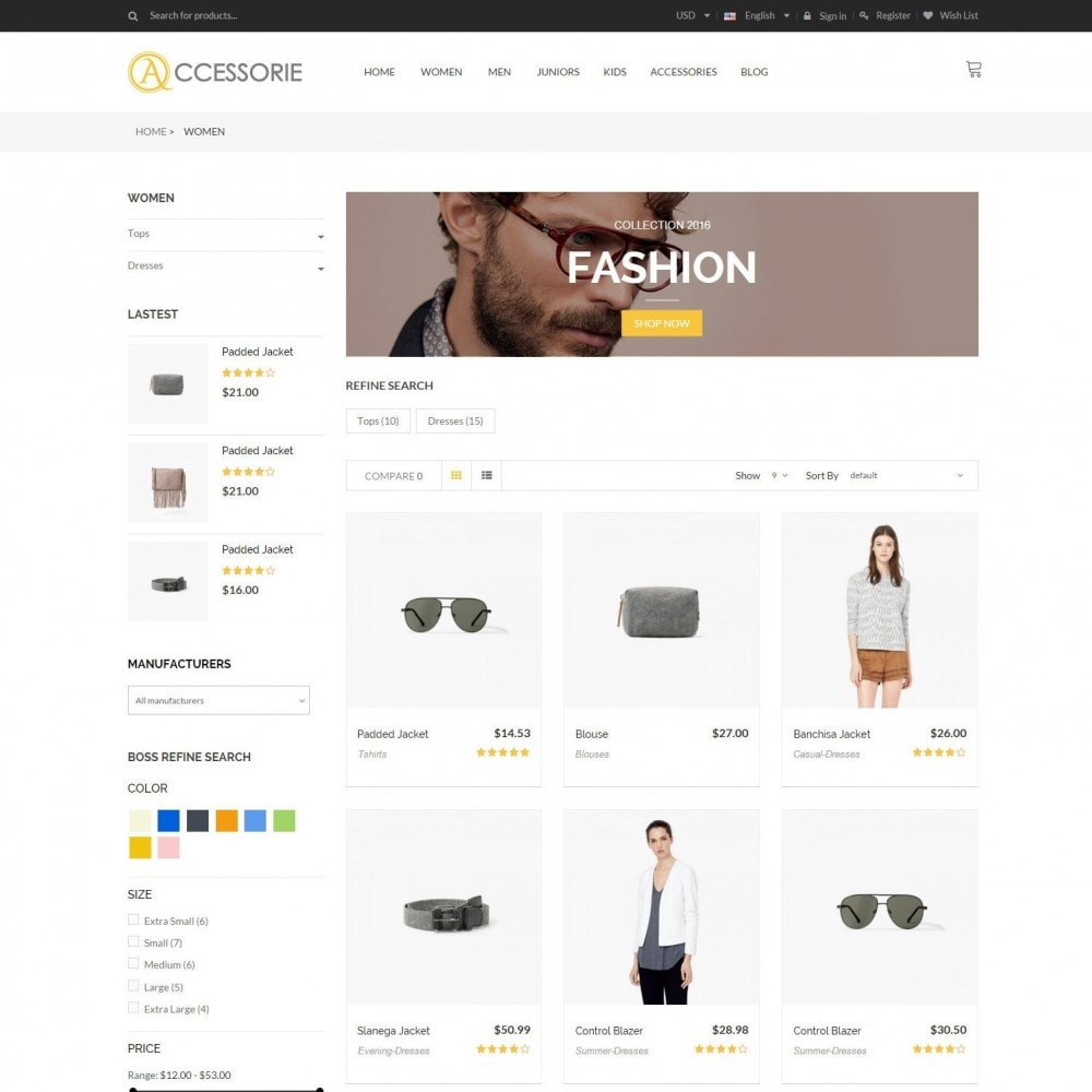 theme - Мода и обувь - Minimal Accessorie Fashion & Shoes Responsive Store - 4