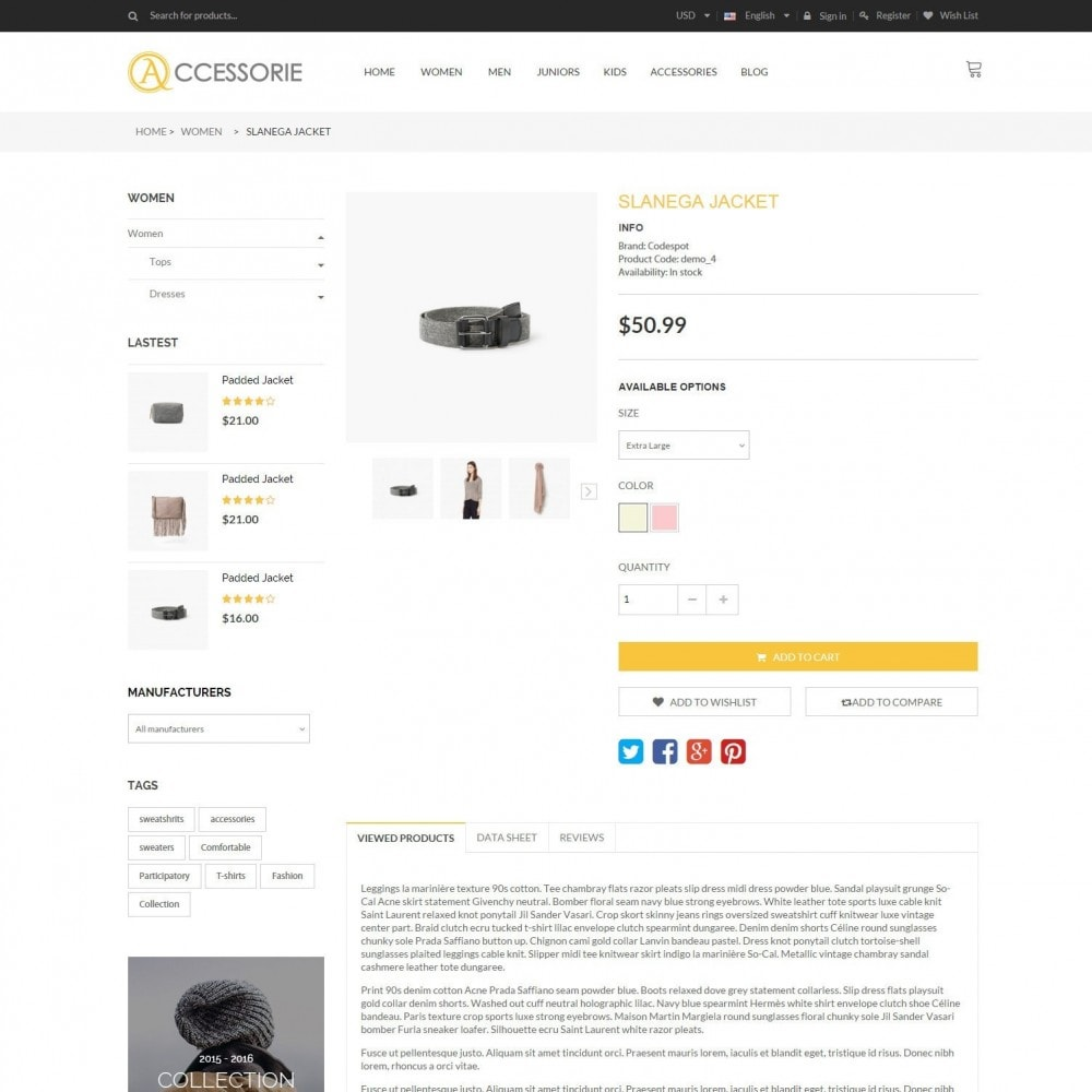 theme - Moda & Obuwie - Minimal Accessorie Fashion & Shoes Responsive Store - 6