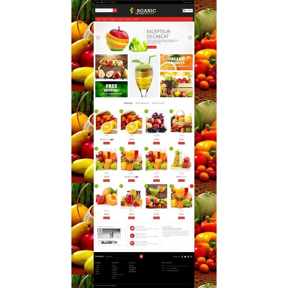 theme - Lebensmittel & Restaurants - Organic Multishop  HTML5 - 8