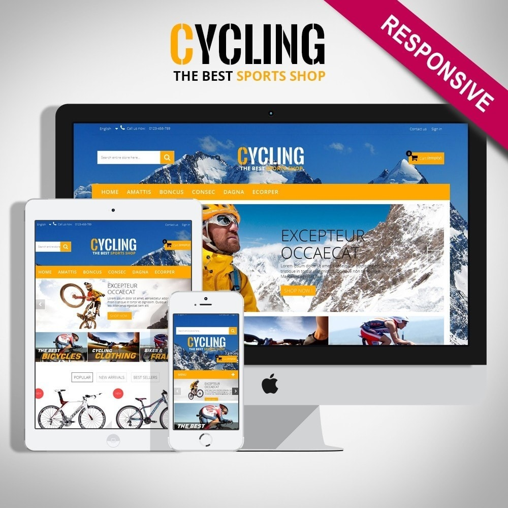 Cycle Multishop HTML5