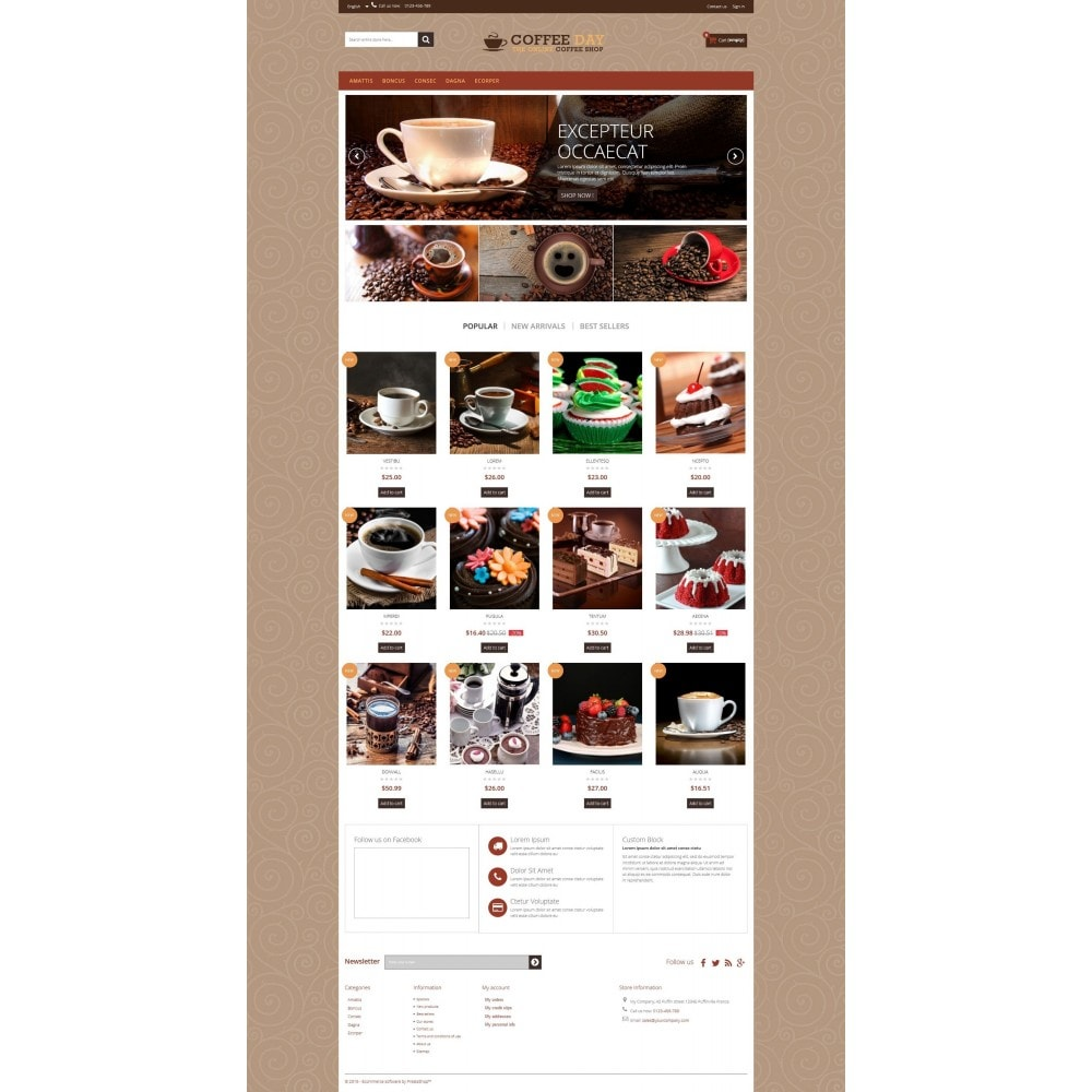 theme - Boissons & Tabac - Coffee & Cake Multipurpose HTML5 - 7