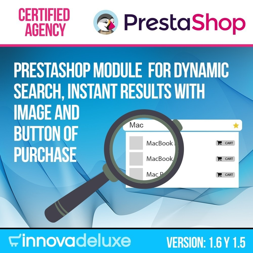 module - Express Checkout Process - Dynamic quick search with image and add to cart icon - 1