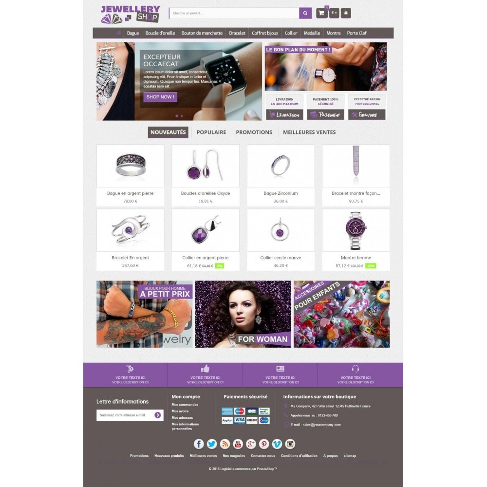 Jewellery Shop 1.6 Responsive