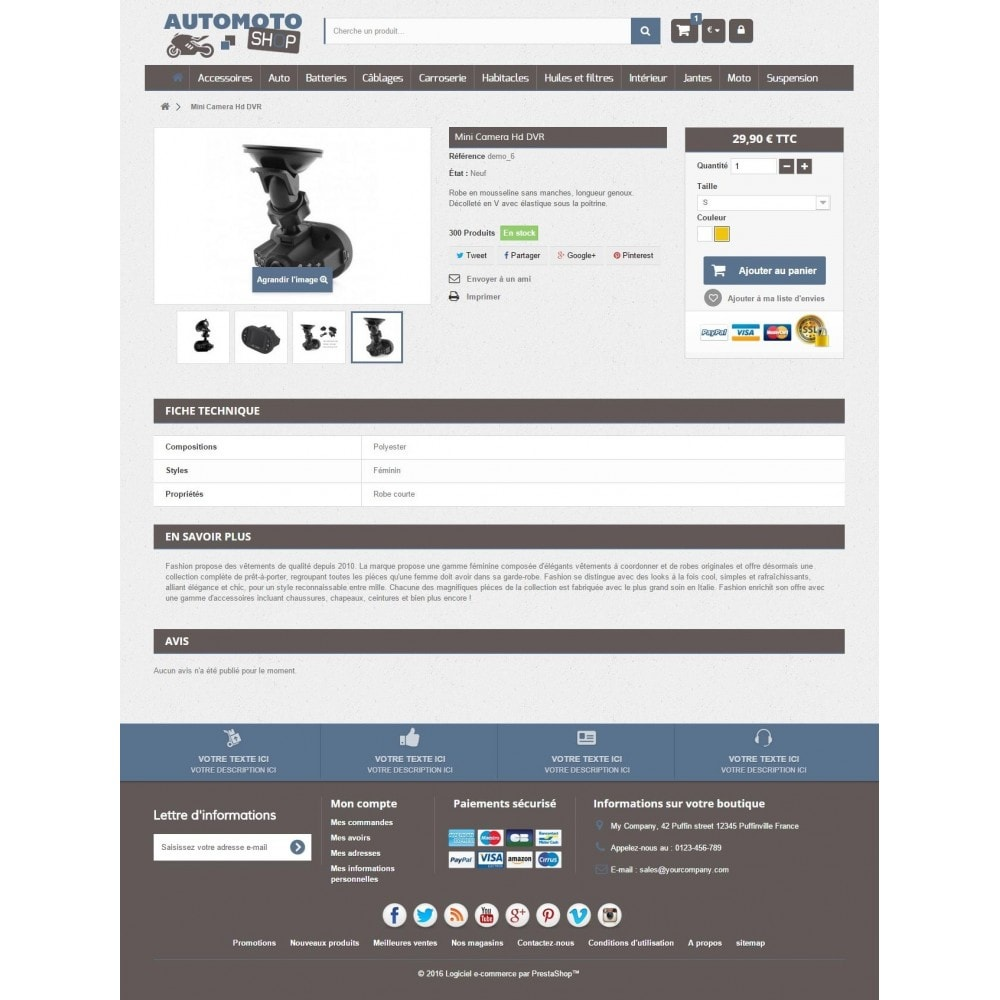 theme - Carros & Motos - Auto Moto Shop 1.6 Responsive - 3