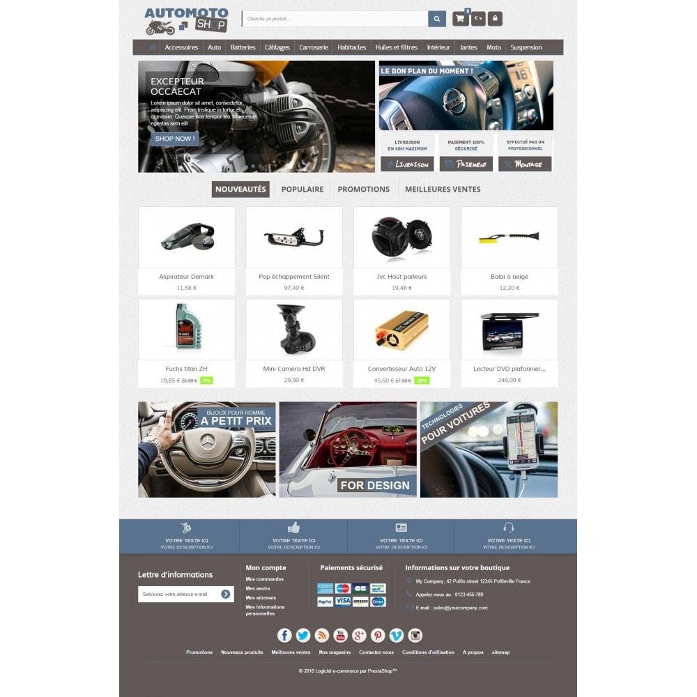 theme - Auto & Moto - Auto Moto Shop 1.6 Responsive - 3