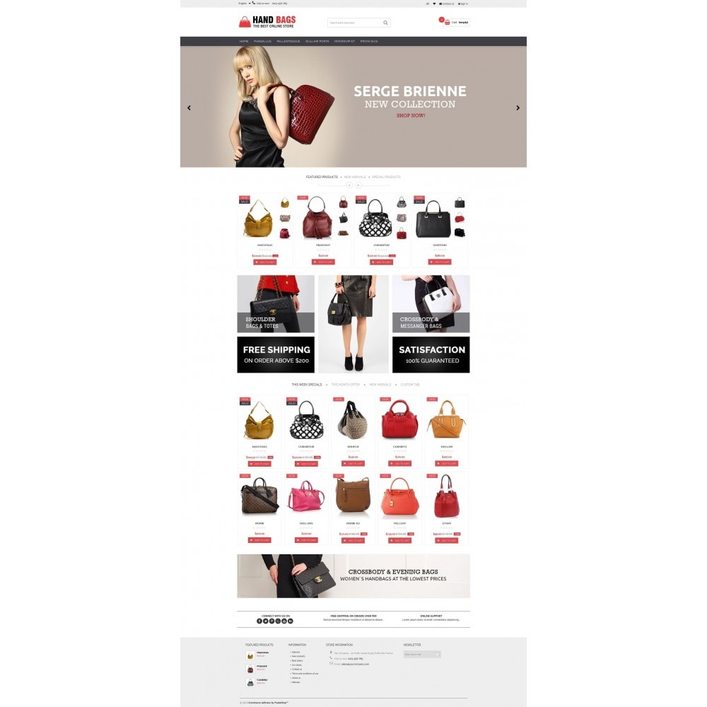 Hand Bags Multipurpose HTML5