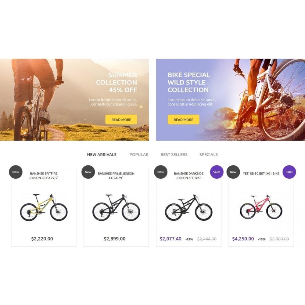 theme - Desporto, Actividades & Viagens - Bike Store - 4