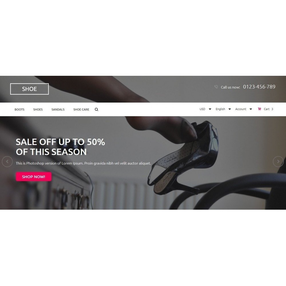 theme - Mode & Schuhe - Shoes Store 1.6 Responsive - 3