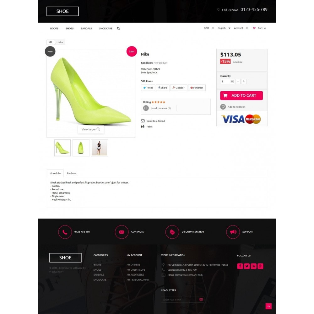 theme - Mode & Schuhe - Shoes Store 1.6 Responsive - 7