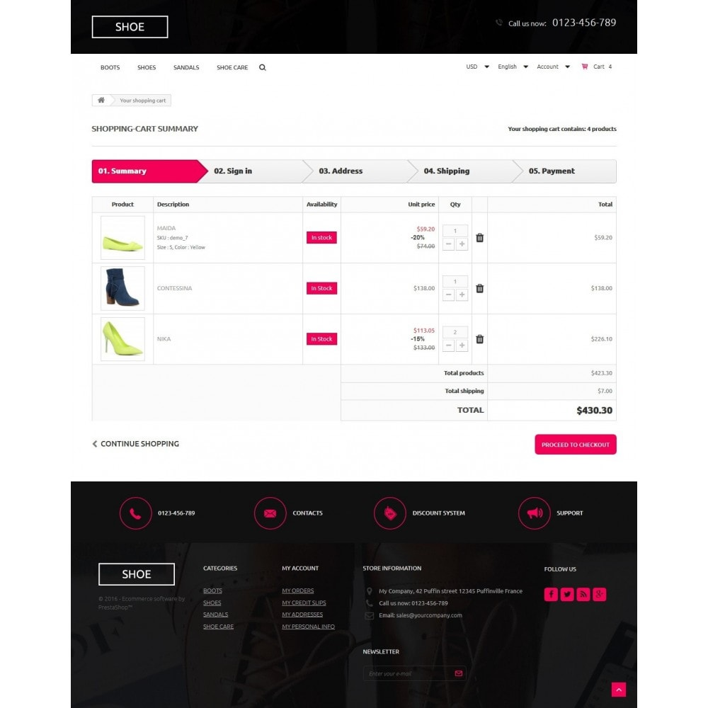 theme - Moda & Calzature - Shoes Store - 9