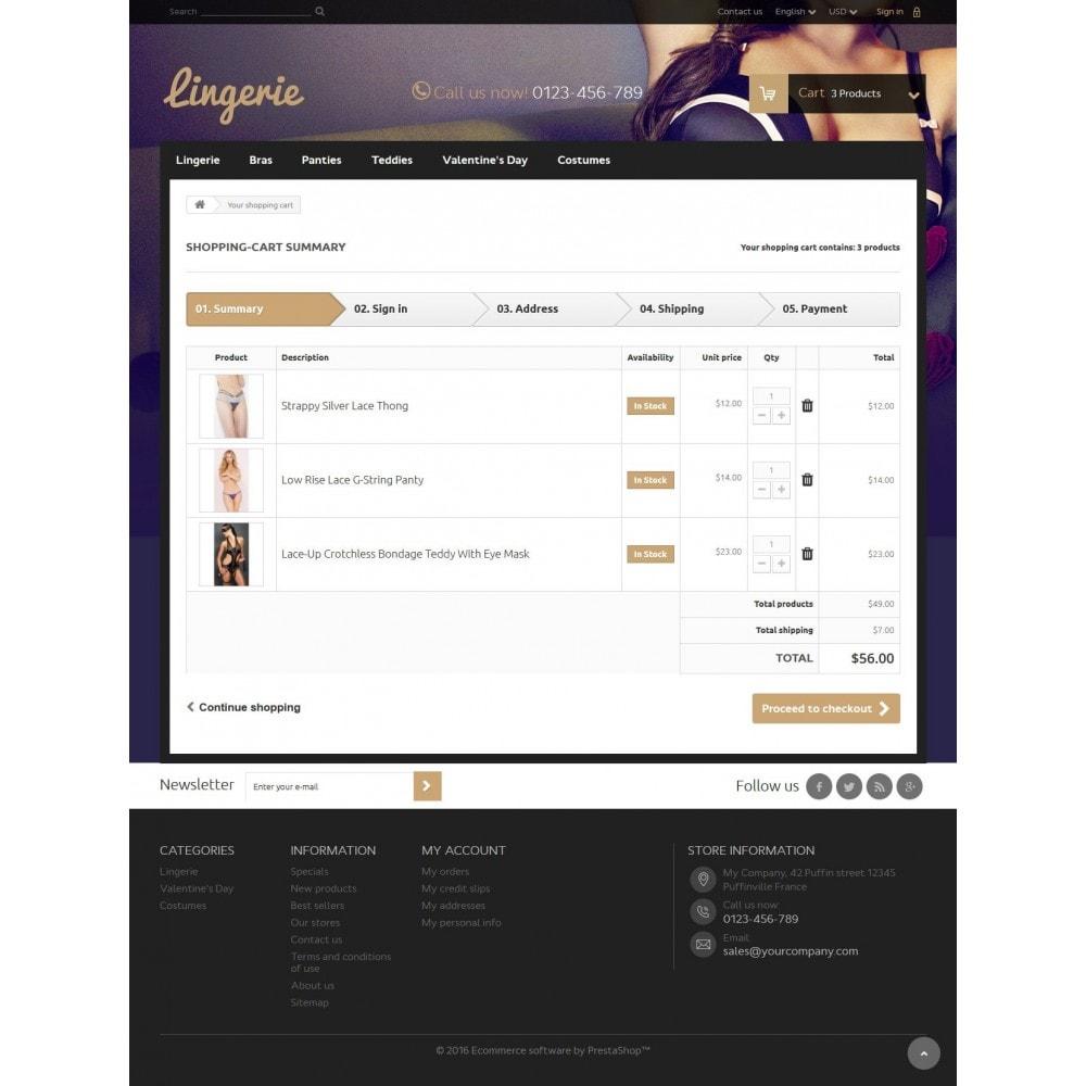 theme - Lingerie & Erwachsene - Lingerie Store - 8