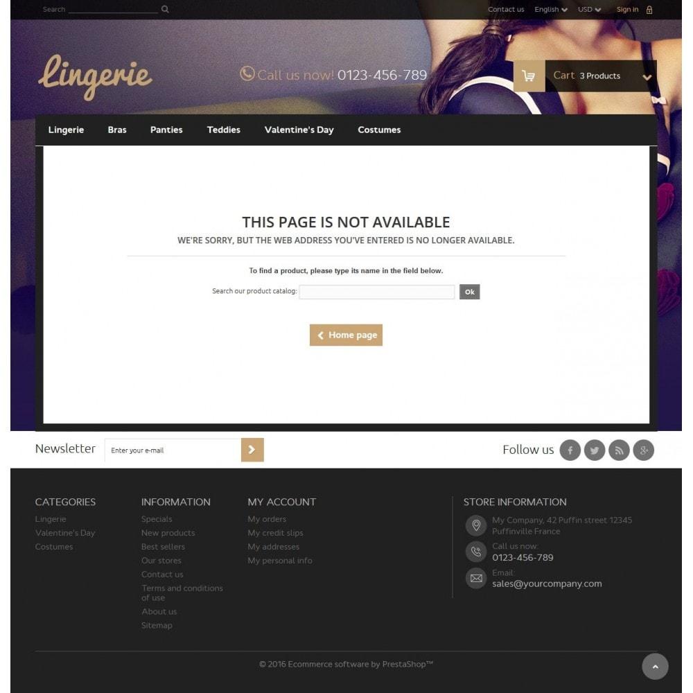 theme - Lingerie & Erwachsene - Lingerie Store - 9