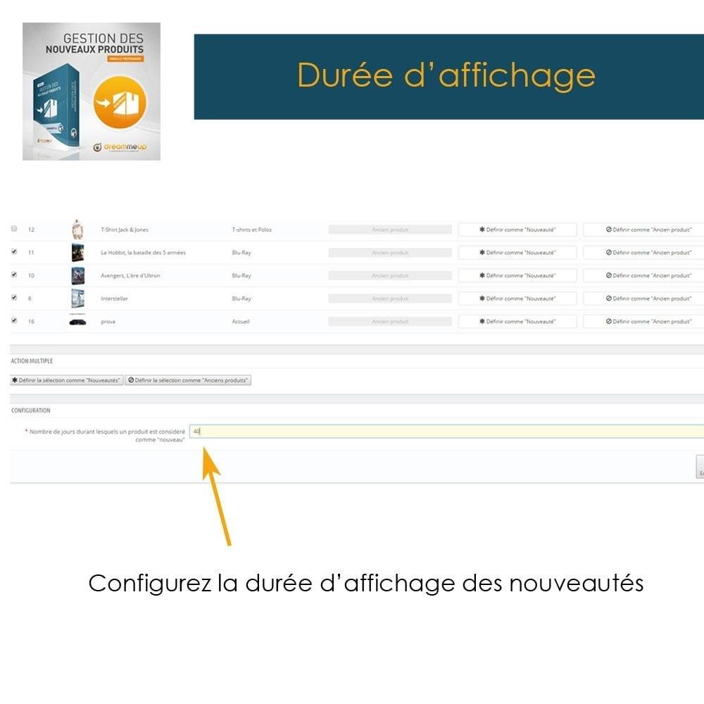 module - Edition rapide & Edition de masse - DMU Gestion des nouveaux produits - 4