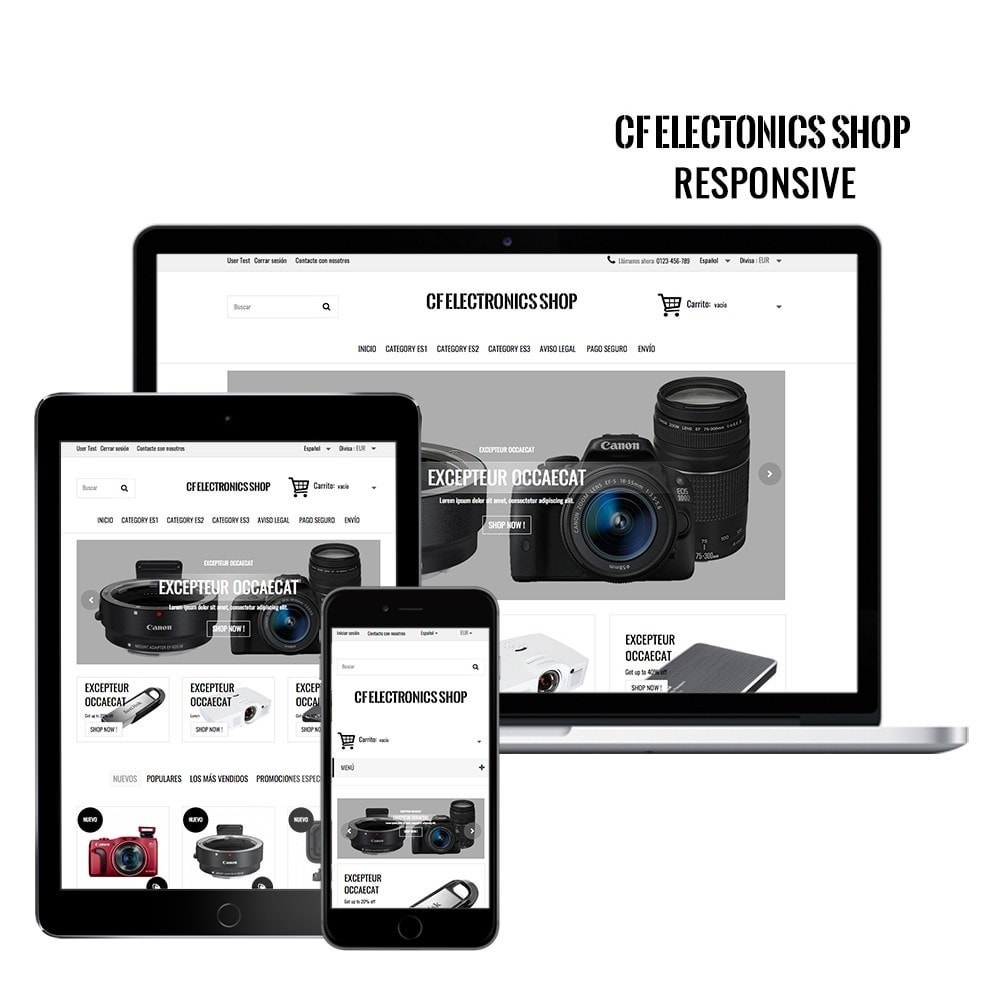 theme - Elektronika & High Tech - CF Electronics Shop - 1