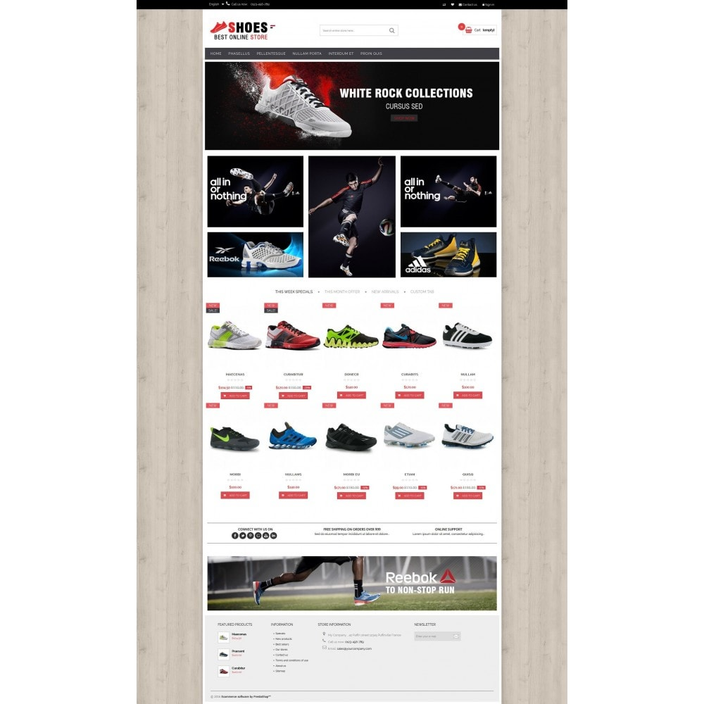 theme - Moda y Calzado - Shoes shop Multipurpose HTML5 - 5