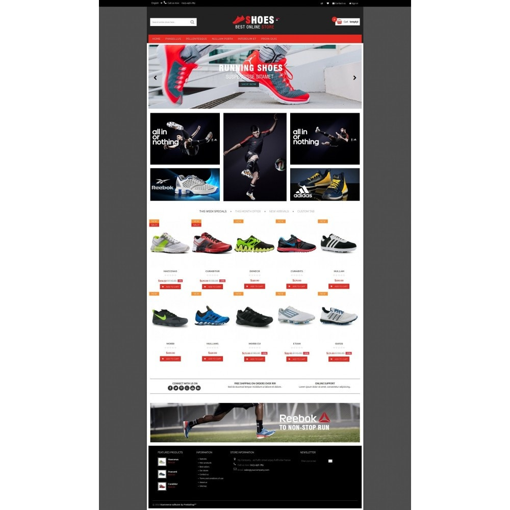 theme - Moda y Calzado - Shoes shop Multipurpose HTML5 - 6