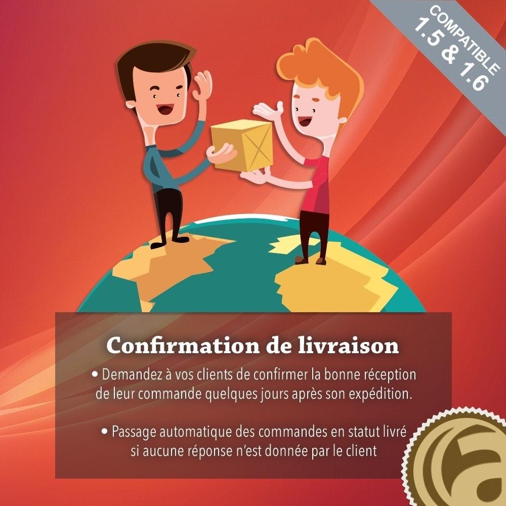 module - Gestion des Commandes - Confirmation de livraison - 1