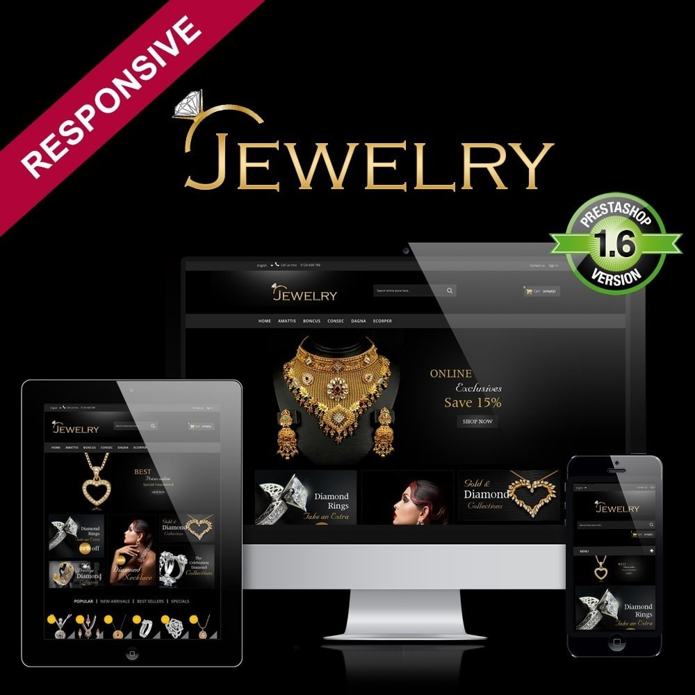 Jewelry Multipurpose HTML5