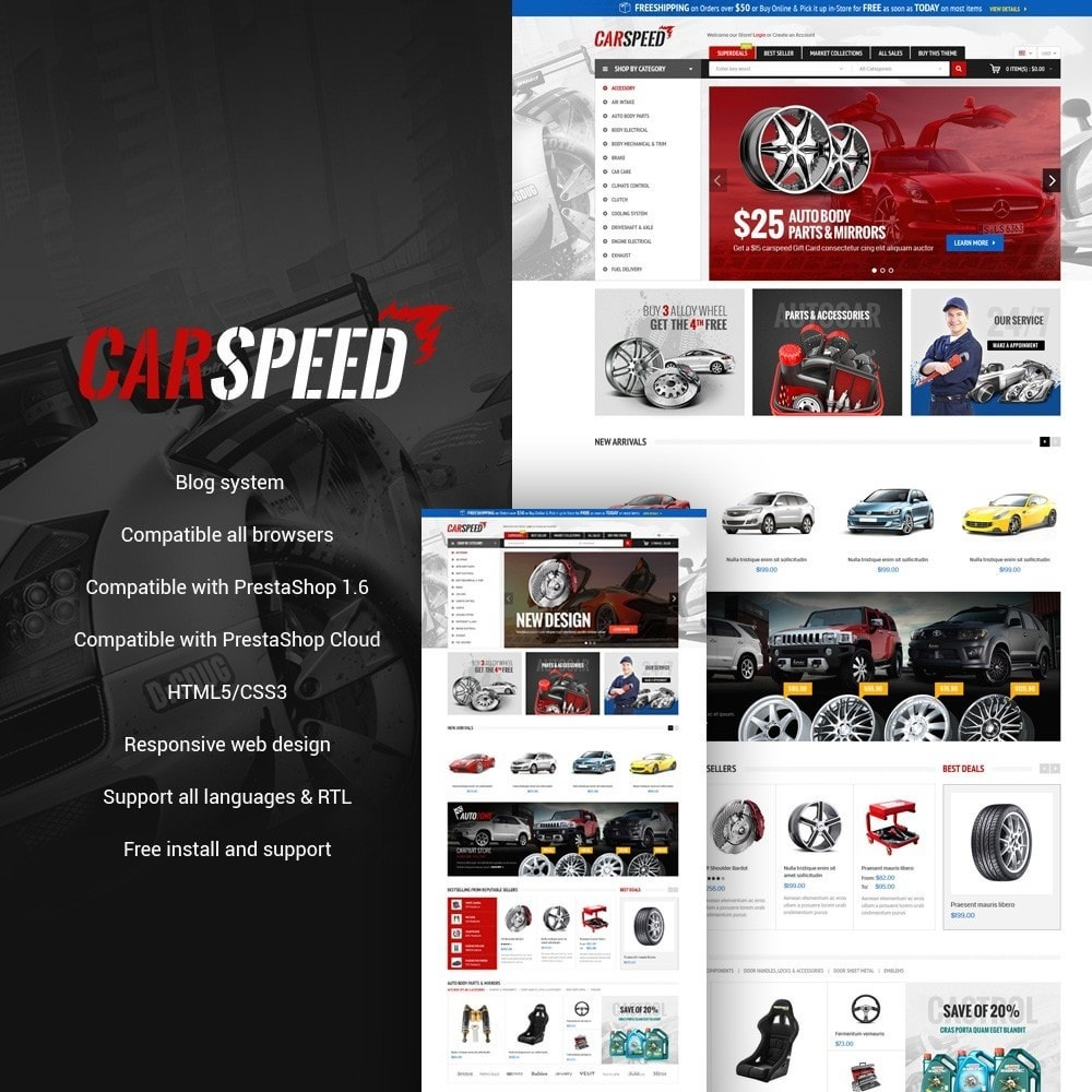 theme - Auto & Moto - Bike Moto And Car Sport Store - 1