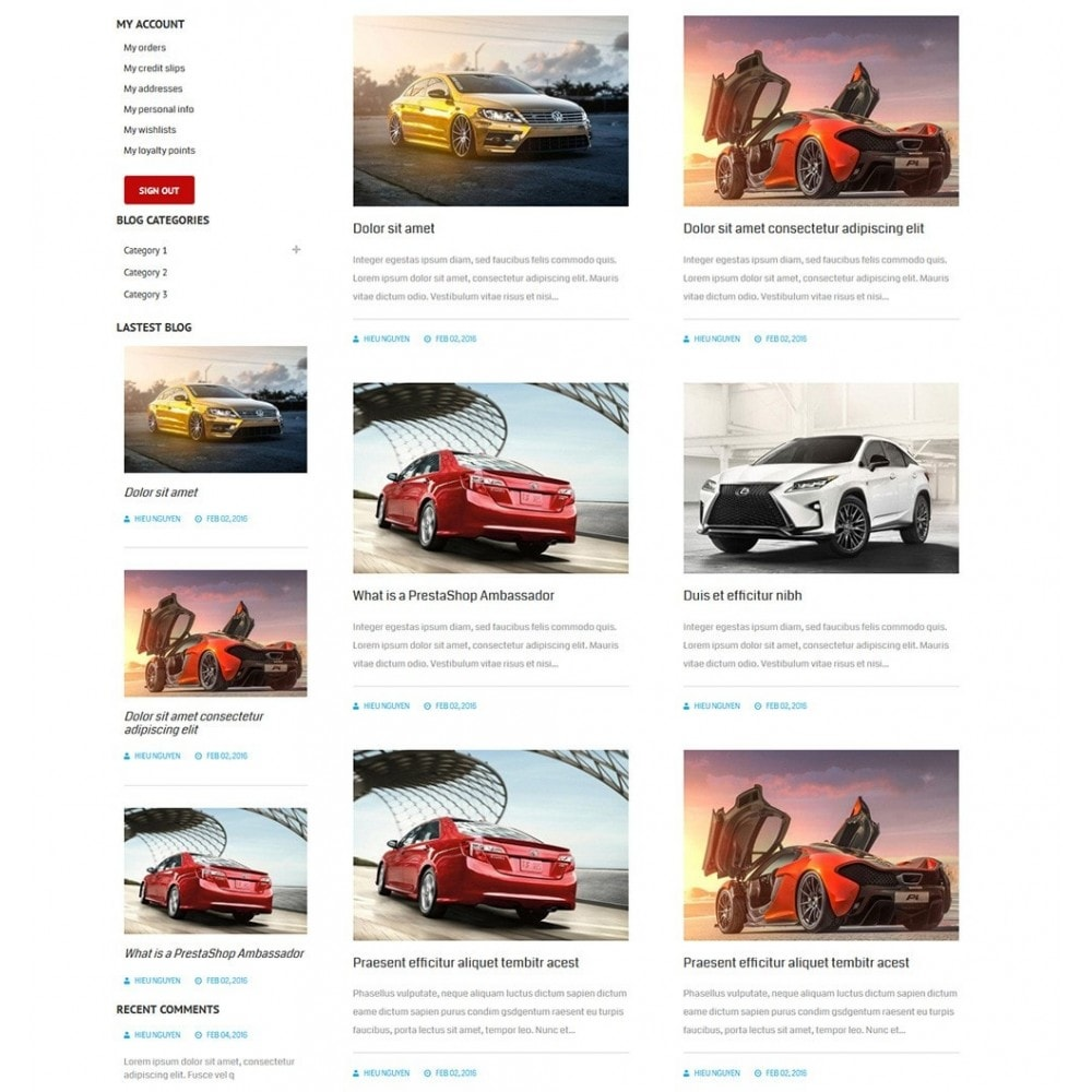 theme - Auto's & Motoren - Water Car Store - 6