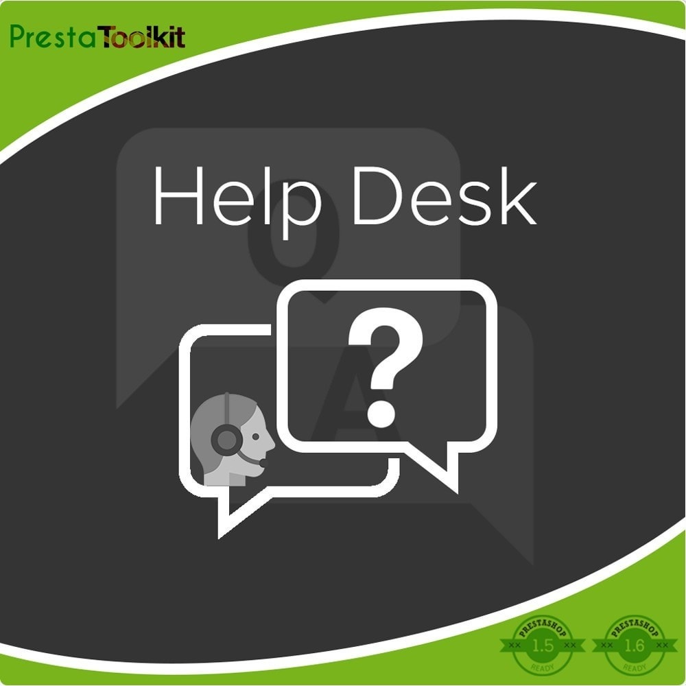 module - Suporte & Chat on-line - Help Desk, Support Management - 1