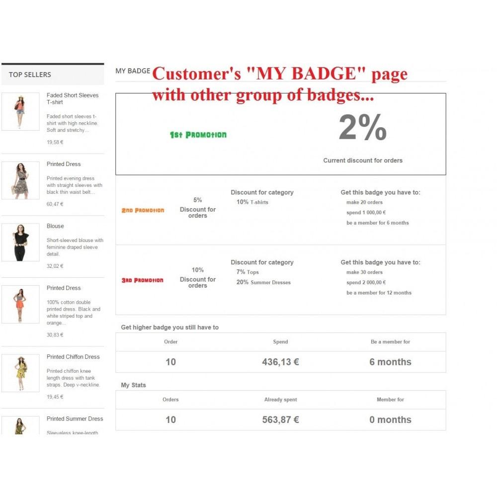 module - Programa de Fidelidad - Customer badge levels loyalty - 2