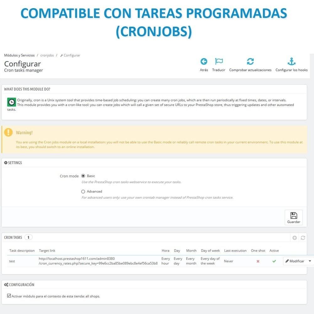 module - Importación y Exportación de datos - Actualizar datos CSV/XML vía URL/FTP cronjob compatible - 14