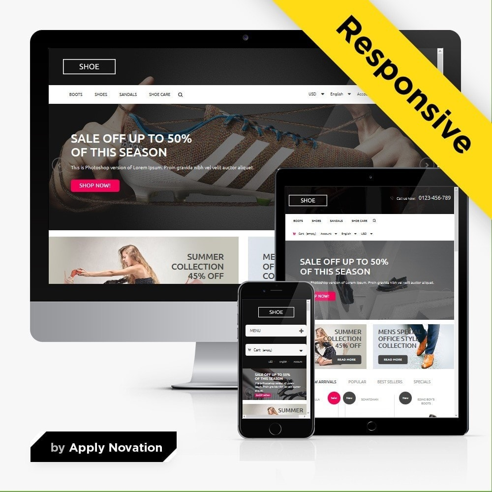 Shoes Store 1.6 Responsive