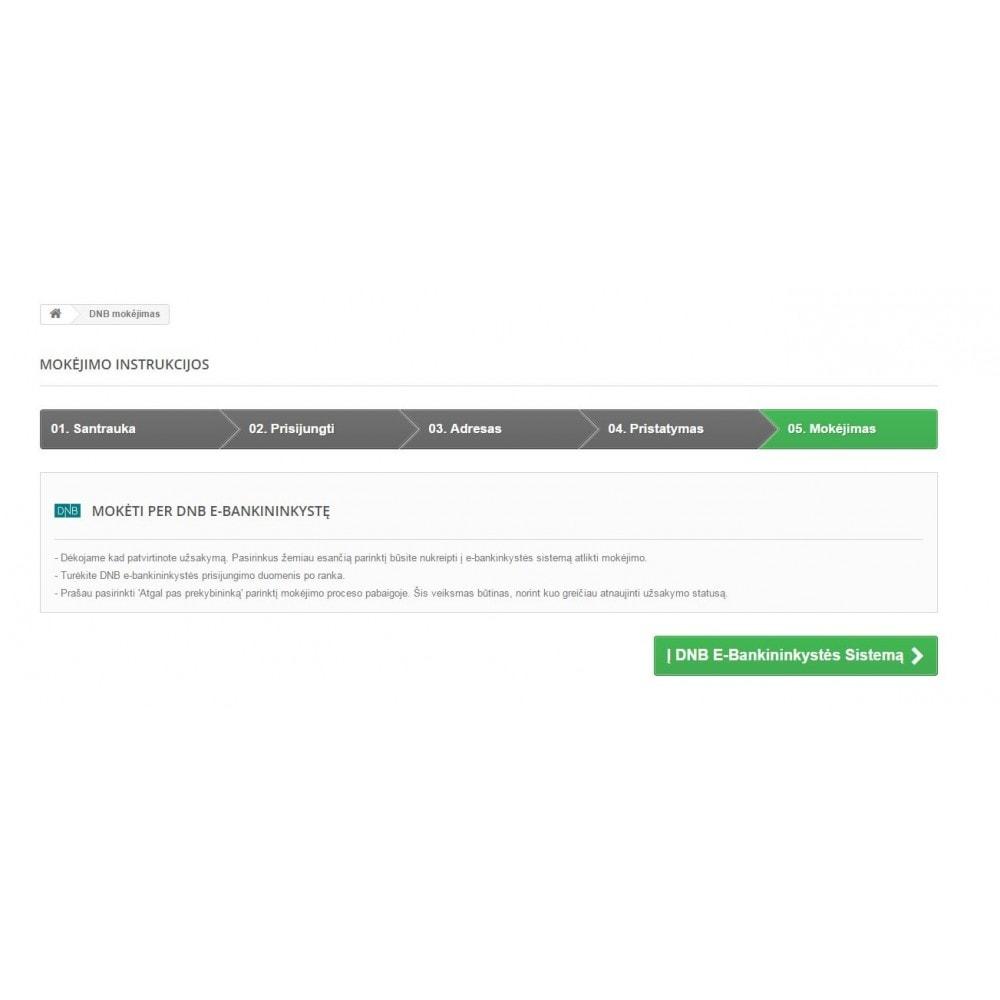 module - Bank Transfer Payment - DNB banklink Lithuania (Lietuva) - 3