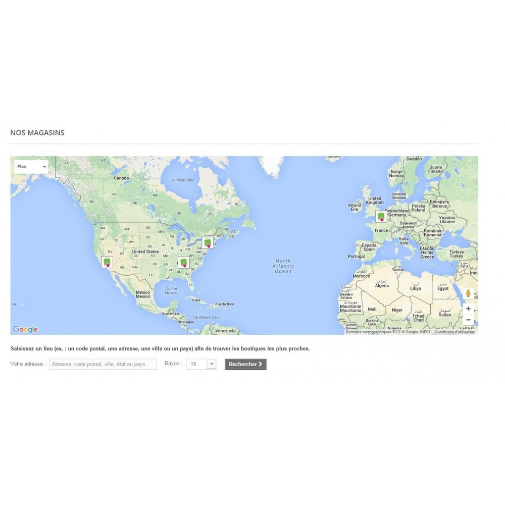 module - Import & Export de données - Import des magasins - 6