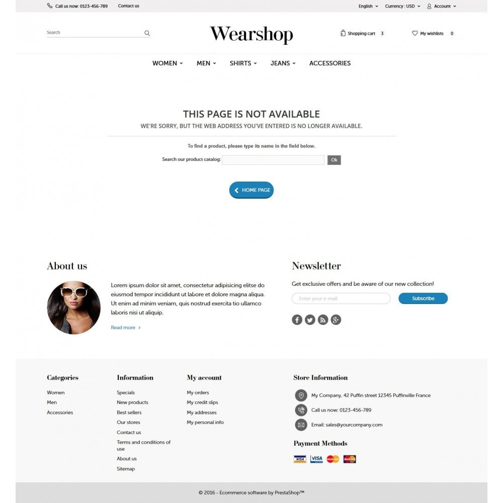 theme - Mode & Schoenen - Wearshop - 9