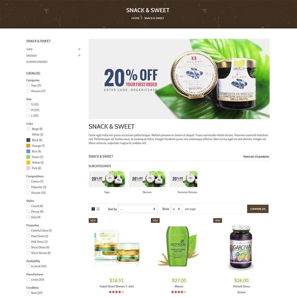 theme - Здоровье и красота - Water Bio Organic - 5