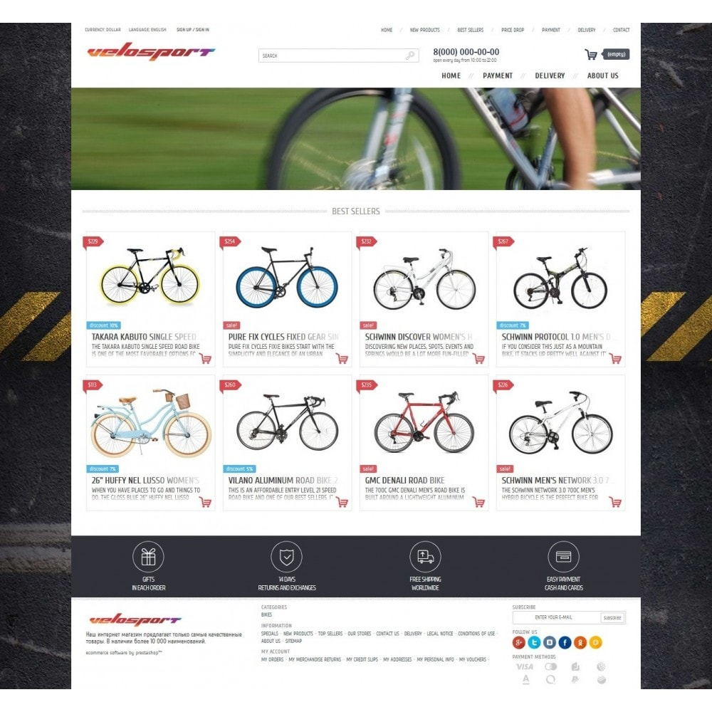 theme - Sports, Activities & Travel - T2 [Responsive] - 1