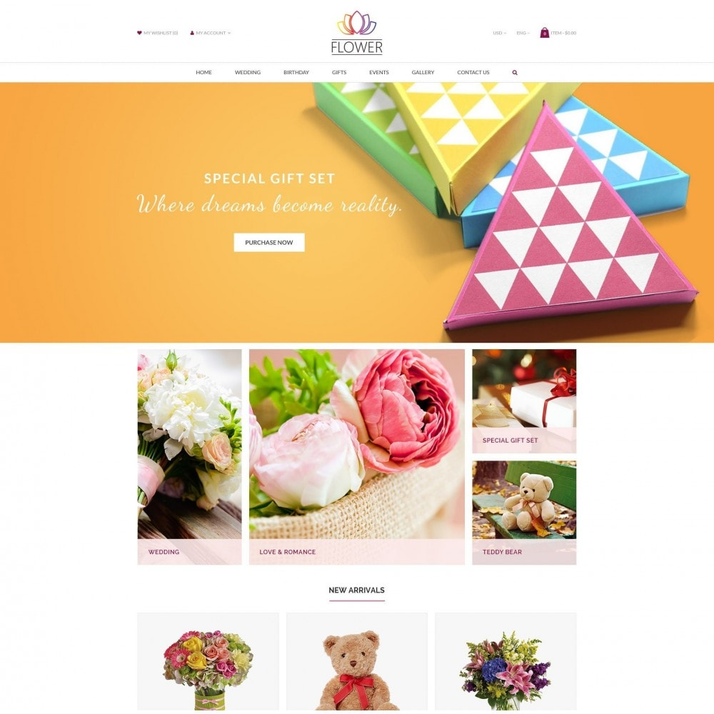 Celebrations Gift & Flower Responsvie Store