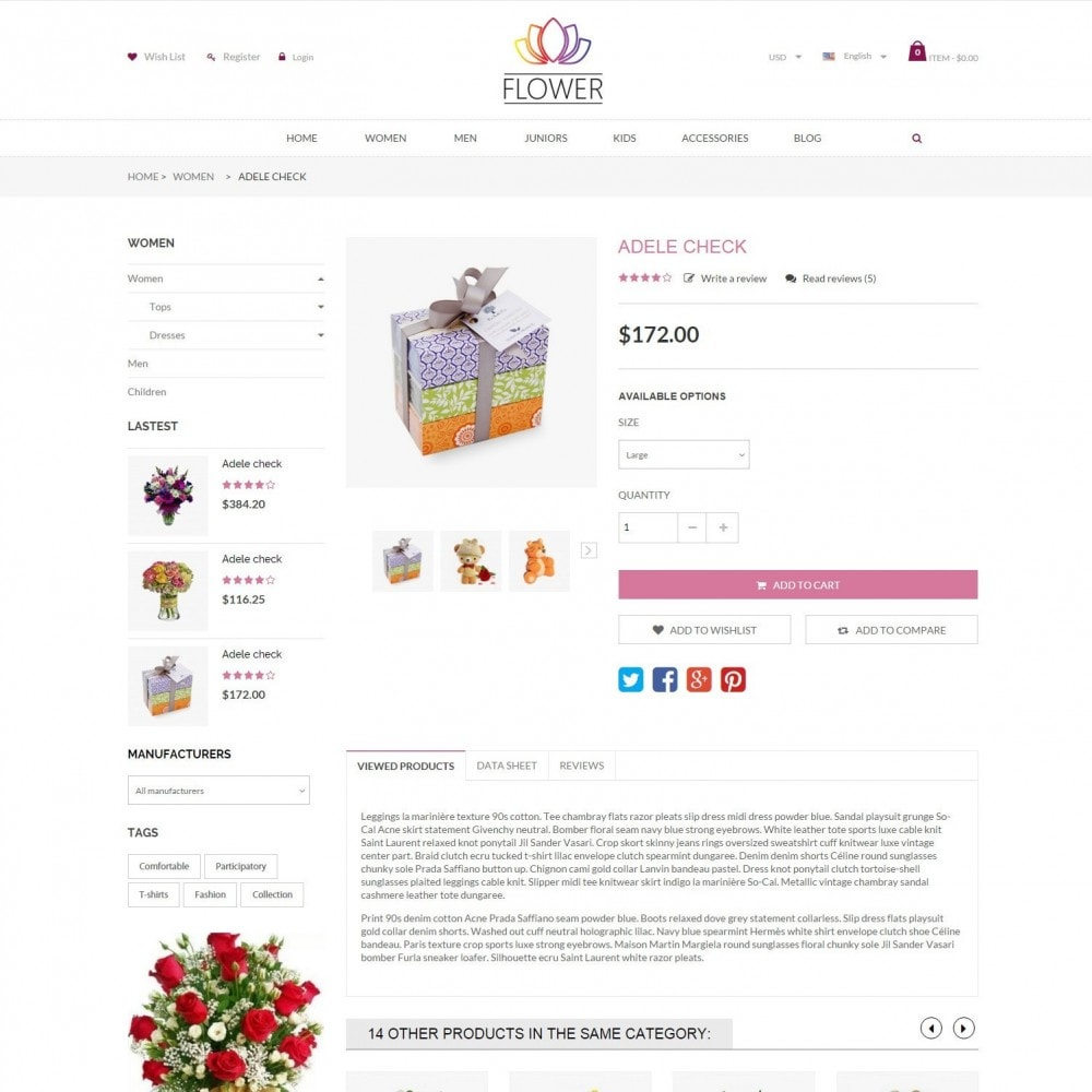 theme - Cadeaus, Bloemen & Gelegenheden - Celebrations Gift & Flower Responsvie Store - 5