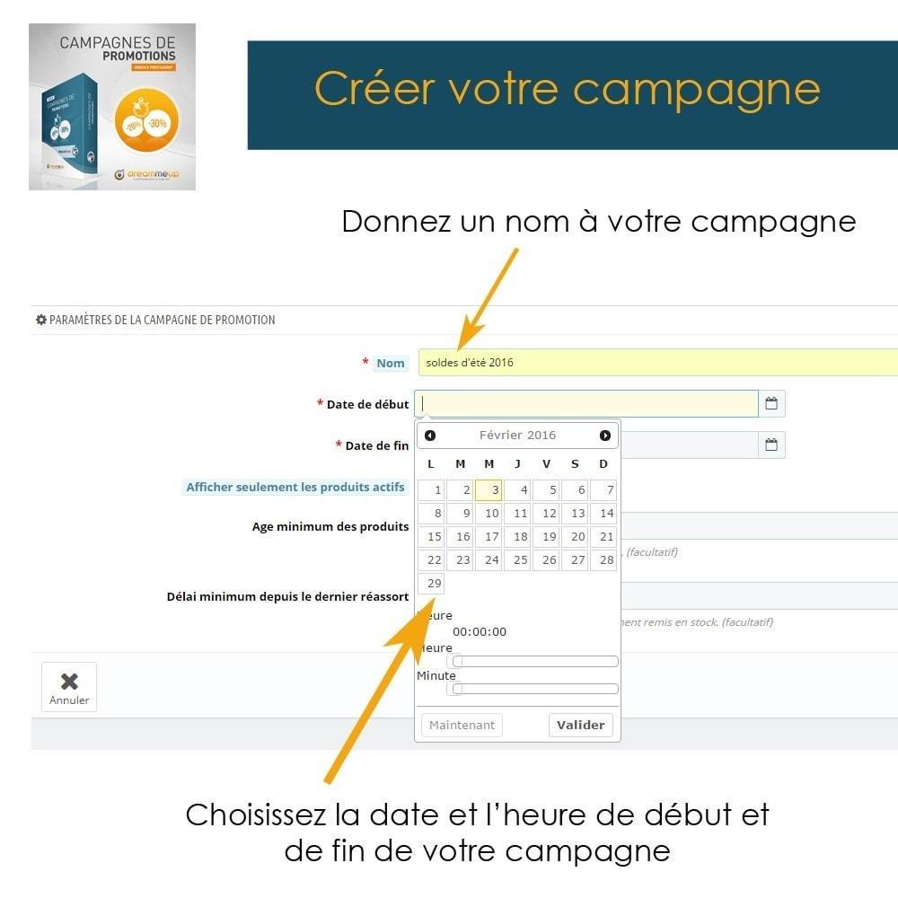module - Promotions & Cadeaux - DMU Campagnes de Promotions - 5