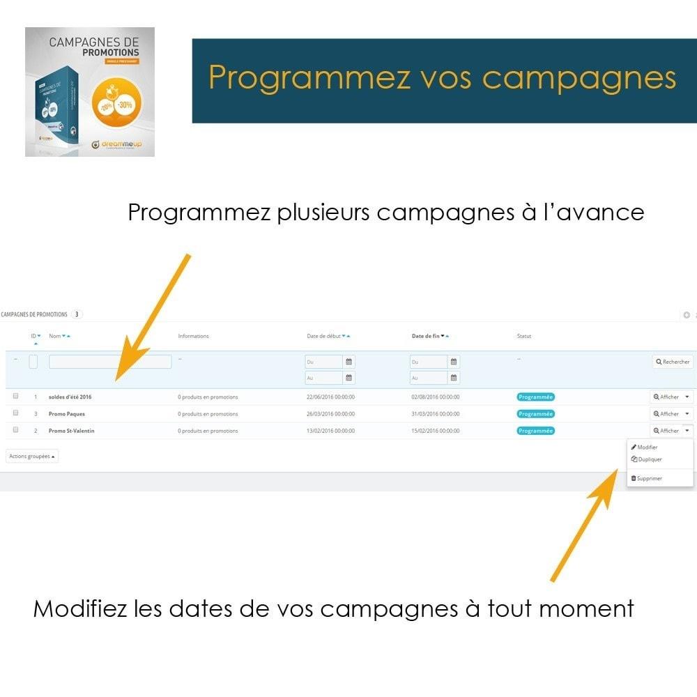 module - Promotions & Cadeaux - DMU Campagnes de Promotions - 6