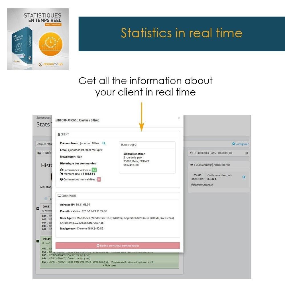 module - Analytics & Statistics - DMU Real Time Statistics - 8